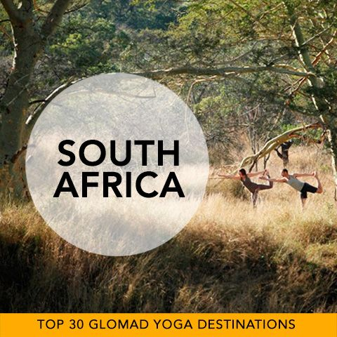 Glomad's 'Top 30 Global Yoga Destinations' No.30 – South Africa  Hello numero 30... it feels like we've only scratched the surface of our world's Yoga Discoveries. One huge continent left with a single recommendation? Well it's a super memorable start. Picture canvas tents and kakis as you venture on retreat in the wilderness, bringing your Warrior to the animal kingdom. This is the game parks of South Africa and yes you can bring your mat... roar! #southafrica #africa #yoga #glomad