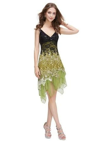 MILLY 20's Gatsby Lace Flapper Dress - Green - Belle Boutique UK