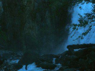 Waterfall Korbu. 12,5 m.