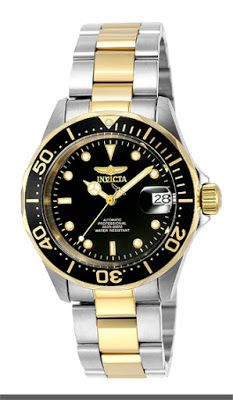 Invicta Men's 8927 Pro Diver Collection Automatic Watch   $87.48 & FREE Shipping.