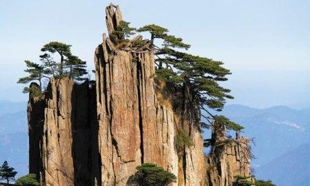 중국의 명산 황산