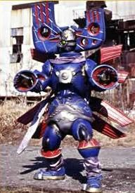 """Mad Magnet is a magnet-themed monster fought by the Wind Rangers in the episode There's No """"I"""" In Team, and was the first monster of the season to be turned giant. After he is sent to Earth, he terrorizes the citizens of Blue Bay Harbor - until Shane intervenes. He fights the monster, and is nearly defeated, until he realizes the importance of teamwork and is rescued by Tori and Dustin. The Wind Rangers defeat him with the Storm Striker's Lion Hammer attack, and he is enlarged with the..."""
