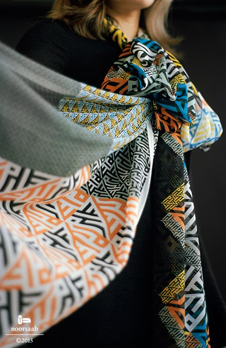 noorsaab | Lookbook 07 | Camus & Menuhin luxury silk scarves