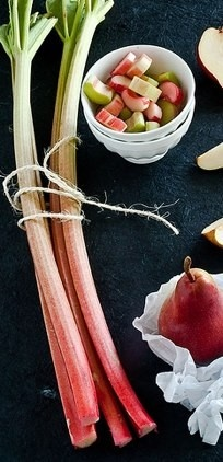 Rhubarb Juice Recipe | Juicing | Pinterest