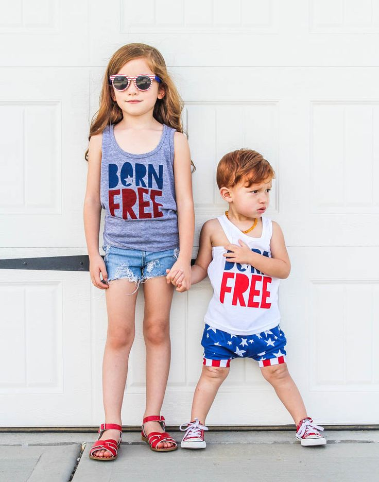 4th of July Shirt - Born Free 4th of July Tank Top for Kids - July 4th Tank - July 4th Tee  - 4th of July Outfit - July 4th Tee by PluckyMustard on Etsy https://www.etsy.com/listing/292940209/4th-of-july-shirt-born-free-4th-of-july