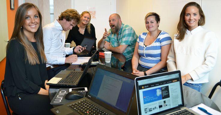 SoMe-gruppa in action. #sosialemedier #kolleger #teamwork
