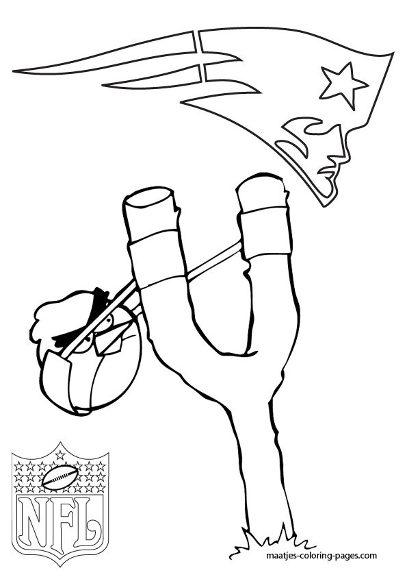 More New England Patriots Coloring Pages On Maatjes Pagescom Bookspages