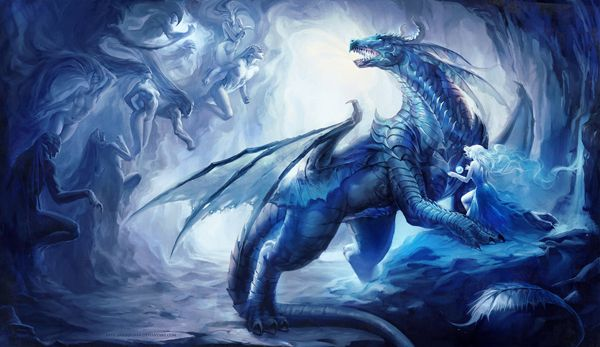 Ice Dragon http://www.cuded.com/2013/06/40-mind-blowing-fantasy-creatures/