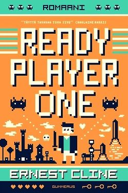 """http://fiftyfifty.me is the challenge to see 50 movies and read 50 books in 2013. this was my choice for book 45 of 50: """"ready player one"""" ernest cline."""
