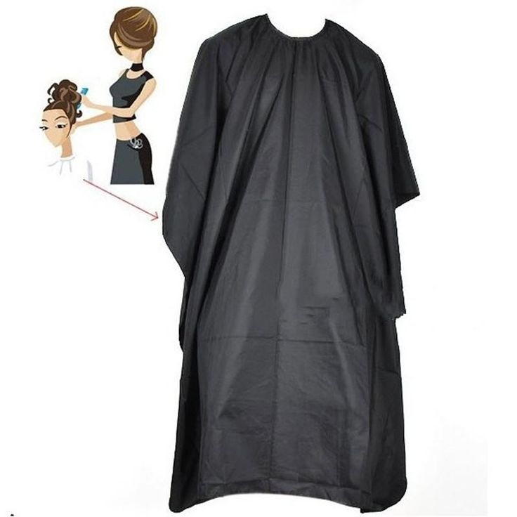 [Visit to Buy] Pro Adult Kids Hair Dressing Barbers Cape Gown Unisex Men Women Styling Tools Salon Beauty For Hair Salon Hot! #Advertisement