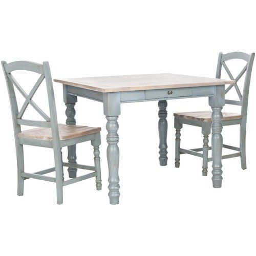 Safavieh American Home Lena Dining Table. Distressed ...
