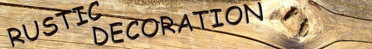 Rustic Decoration by RusticDecoration on Etsy
