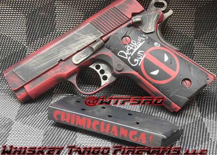 Whiskey Tango Firearms Deadpool Colt 1911