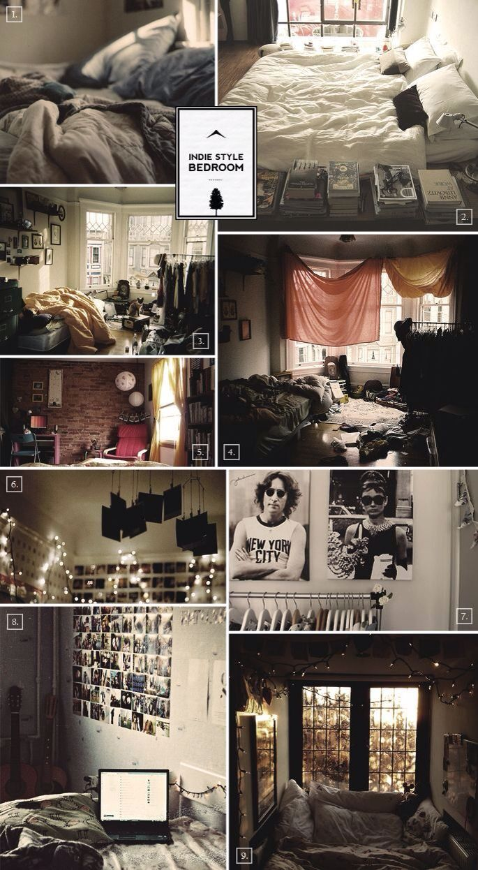 Bedroom Decorating Ideas Hipster 190 best indie alternative / hipster room images on pinterest