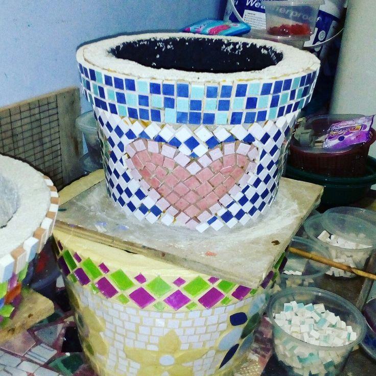 mozaik pots