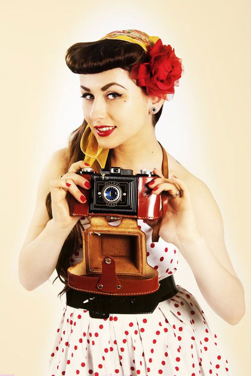 Pinup style photo-shoots are all about the props. These classic items are simply what makes a pinup a pinup. Be sure to grab some for your next pinup themed shoot.