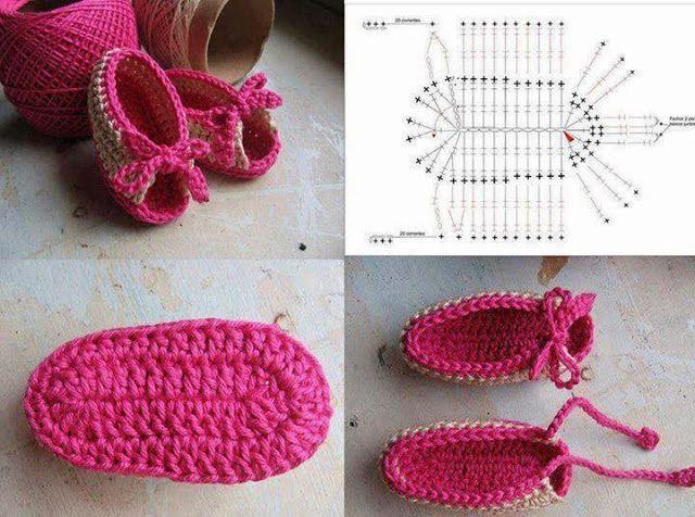 Mi baúl de Inspiraciones : Zapatitos de bebé ;)