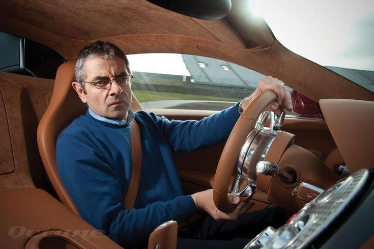 mr bean rowan atkinson driving a bugatti veyron never was a more incongruous match made. Black Bedroom Furniture Sets. Home Design Ideas