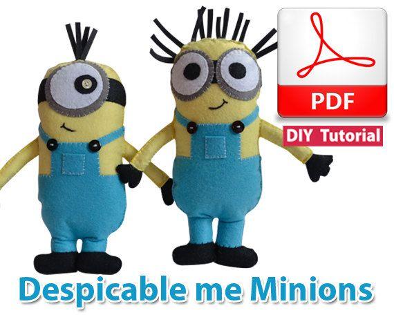 Despicable Me Minions PDF Tutorial INSTANT DOWNLOAD by vitbich
