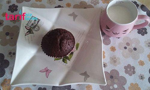Kakaolu Portakallı Muffin Kek