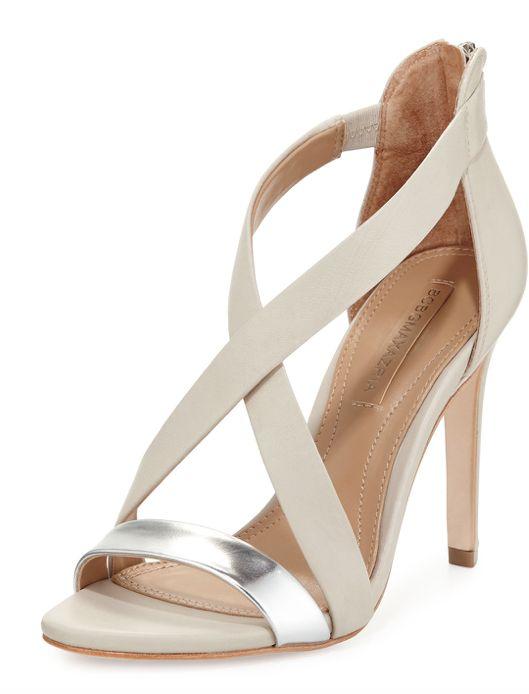 BCBG Max Azria Rainn Metallic Strappy Sandal. SandalesSoulierChaussureTalons  ...