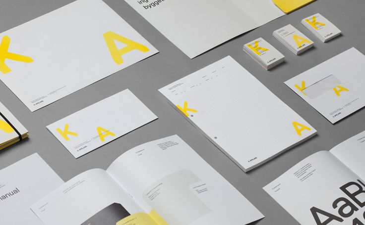 Visual identity and stationery by Norwegian graphic design studio Bielke&Yang for engineering consultancy K Apeland