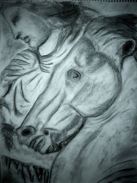 Momentsbook.com: Με έμπνευση τη ζωφόρο του Παρθενώνα. (Ζωγραφική με...