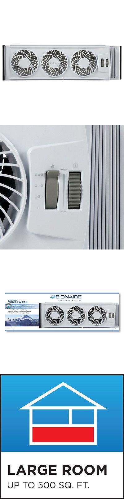 Portable Fans 20612: Bionaire Bwf0502m-Wm Thin Window Fan W Comfort Control Thermostat -> BUY IT NOW ONLY: $43.99 on eBay!