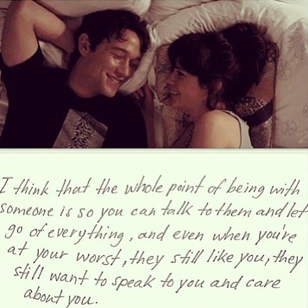 This movie is the perfect depiction of love and what it really is. Not all those sappy romance movies that give false hopes.