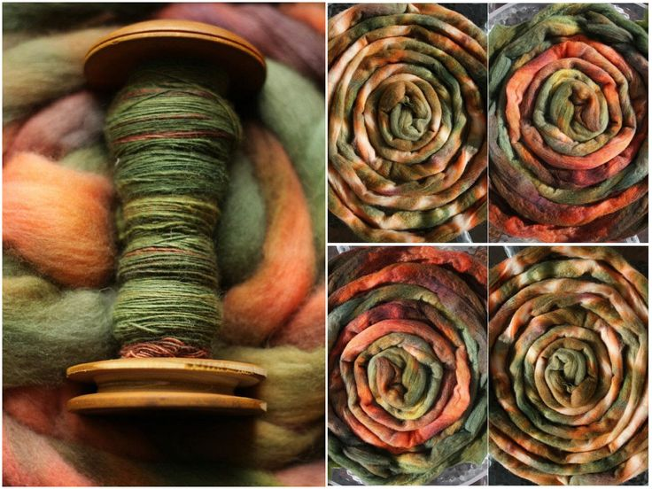 hand dyed