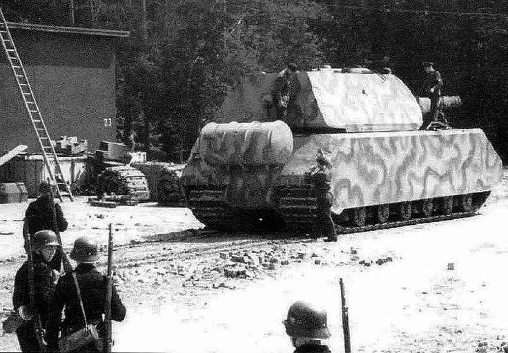 """Panzerkampfwagen """"Maus"""" (Porsche 205)"""