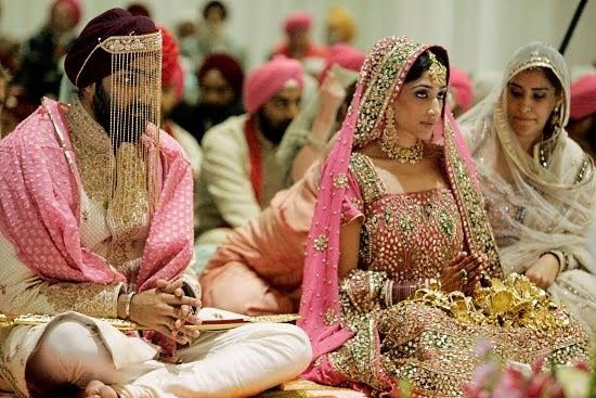 Sikh Couple in Gurudwara