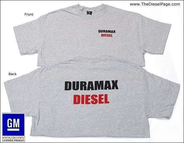 awesome Chevy Duramax Apparel