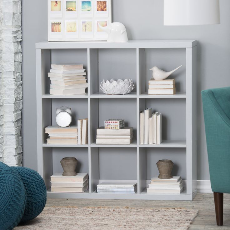 Have to have it. Hudson 9-Cube Bookcase - $149.99 @hayneedle