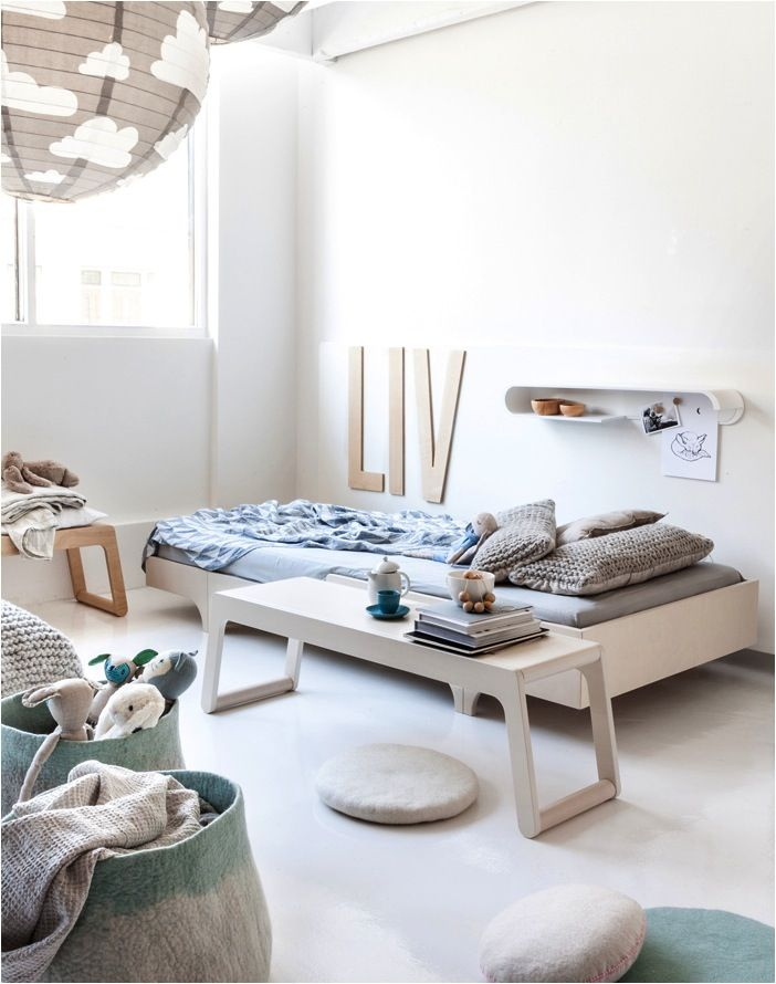 One of the most beautiful materials to use in a kids room is natural wood. Wood in all it's raw, naked, pale glory. We often feel tempted to paint natural wood but when you leave it raw, the results can be breathtakingly beautiful. I especially like natural wood for a kids room because there is […]