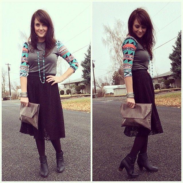 The casual Randy tee with the elegant Lola skirt! https://www.facebook.com/groups/LuLaRoeBuffaloNYSaraOverhoffVIPs/