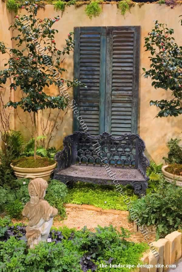15 best images about blinds on pinterest rustic feel for Wooden garden decorations