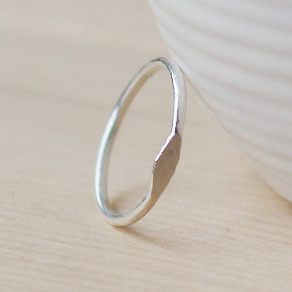 kismet  fine silver ring by elephantine by elephantine on Etsy, $24.00