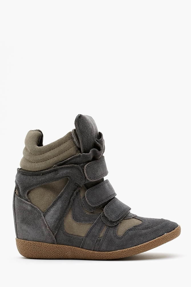 Hilight Wedge Sneaker in Gray i found simular in mall
