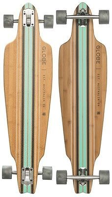 Globe #longboard skateboard #complete - prowler - #bamboo ice, View more on the LINK: http://www.zeppy.io/product/gb/2/252381312276/