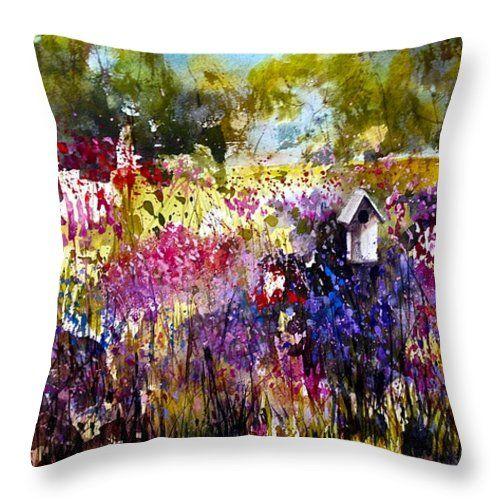 Throw Pillow by Australian Artist Georgia Mansur