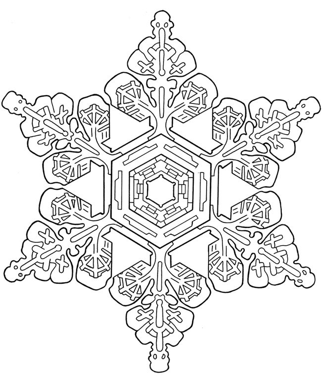 Snowflake Designs:  Dover Publications Sample