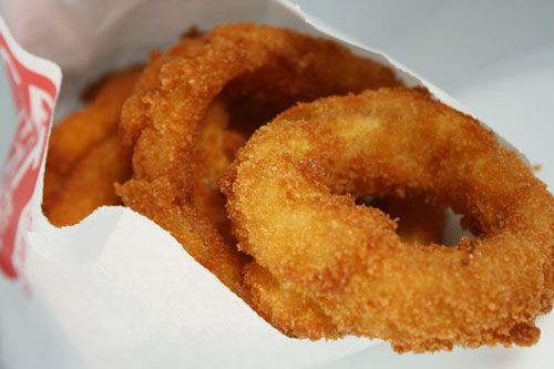 I must be starting my period soon to be craving onion rings from Sonic Drive-In! YUM ♥