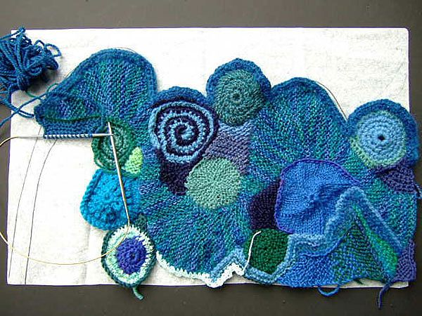 259 best Freeform Häkeln crochet images on Pinterest ...
