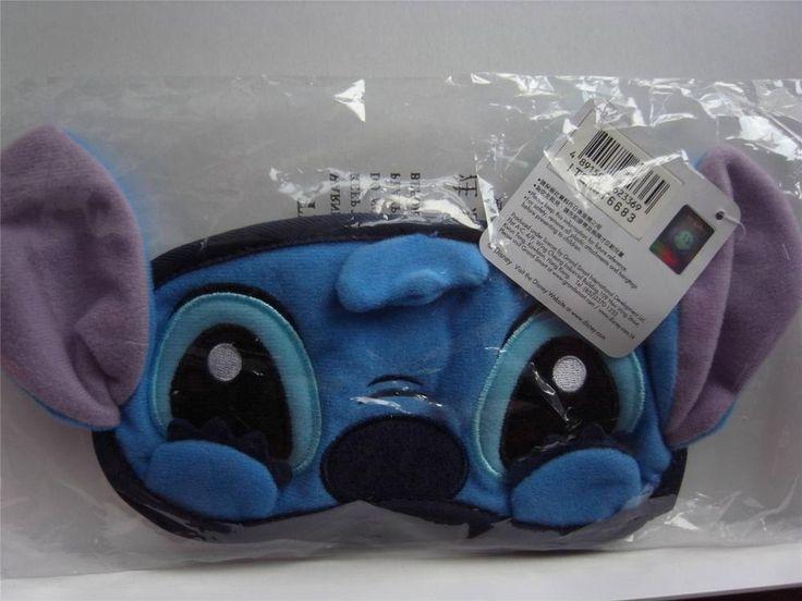 NEW Disney Lilo & Stitch eyeshade eye sleep mask with ears and hands