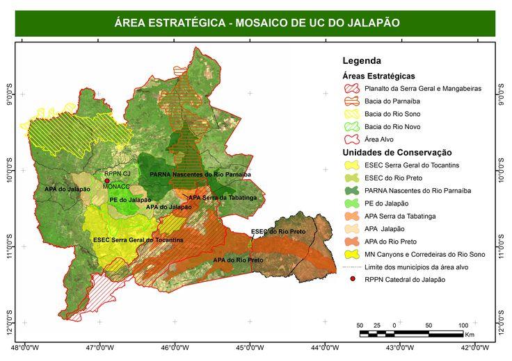 ICMBio - Projeto Corredor Ecológico da Região do Jalapão - Localização