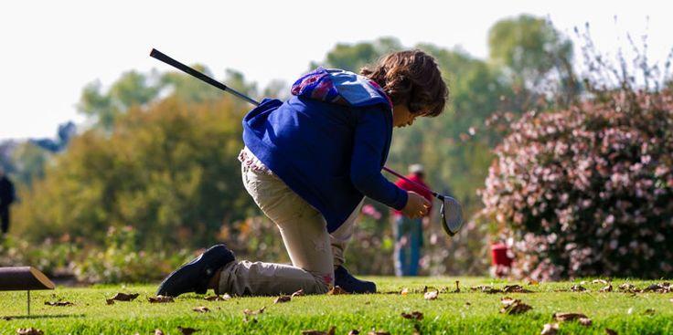 a child playing golf - Golf Club Udine Italy