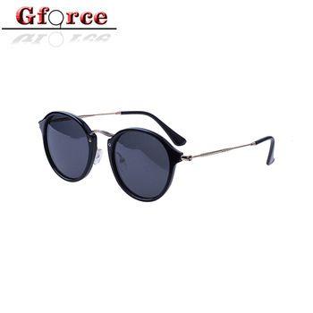 2017 acetate custom logo design fashion sun glasses women polarized sunglasses in stock