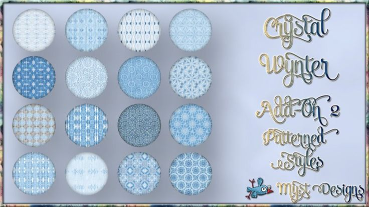 Crystal Wynter - Add-On 2 - Patterned Styles