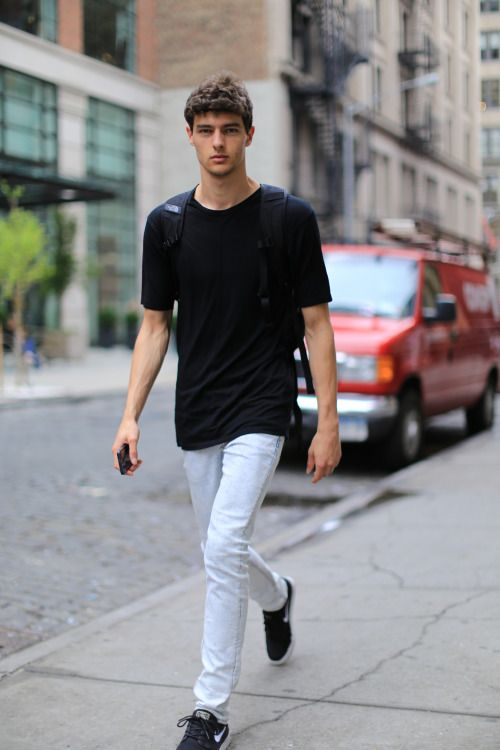 Male Model Street Style | cabideiro dele | Pinterest ...